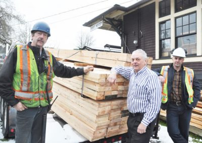 Flavelle Supports Trench Project